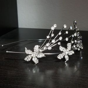 Bridal Headband Side Tiara